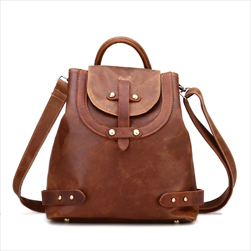 handmade vintage backpack