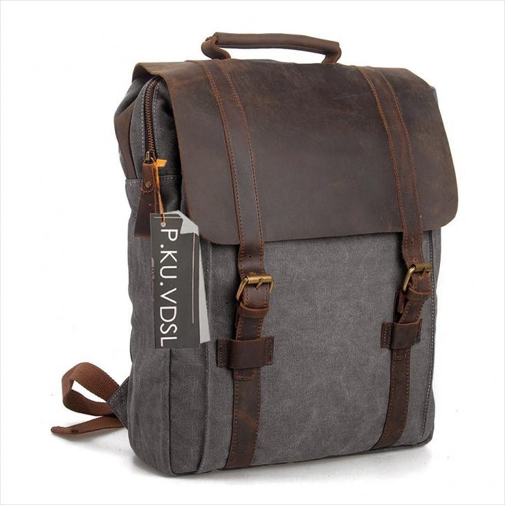classy vintage backpack