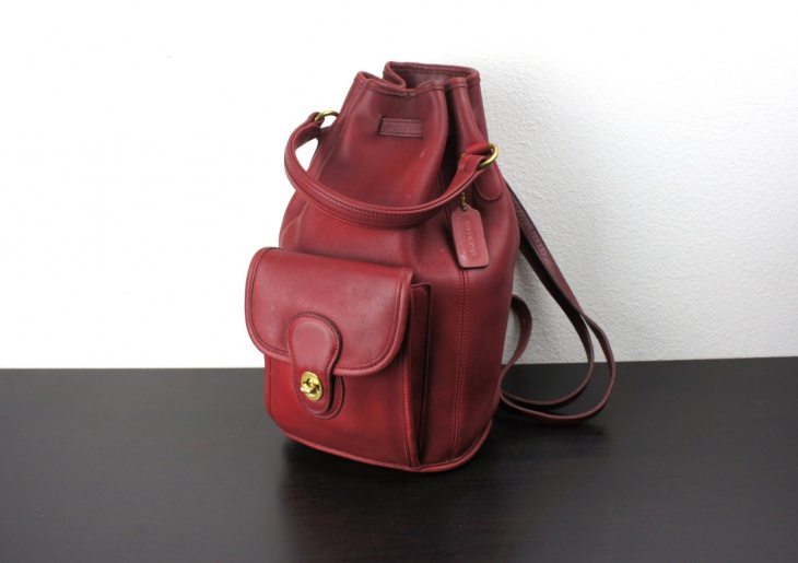 Vintage Duffle Sling Backpack