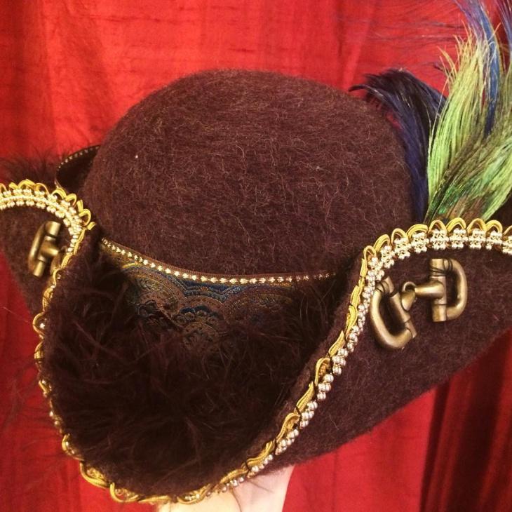antique tricorn hat