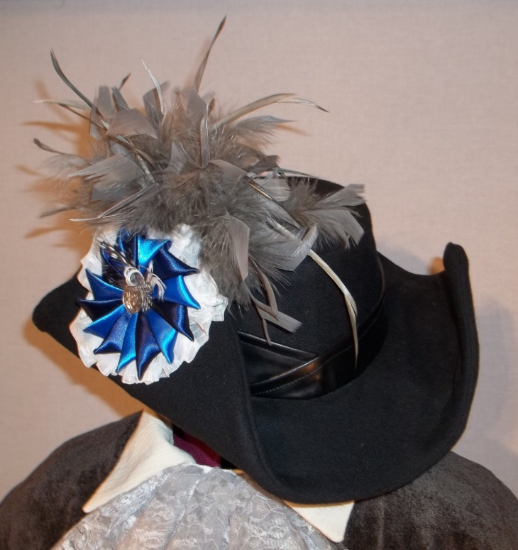 beautiful tricorn hat