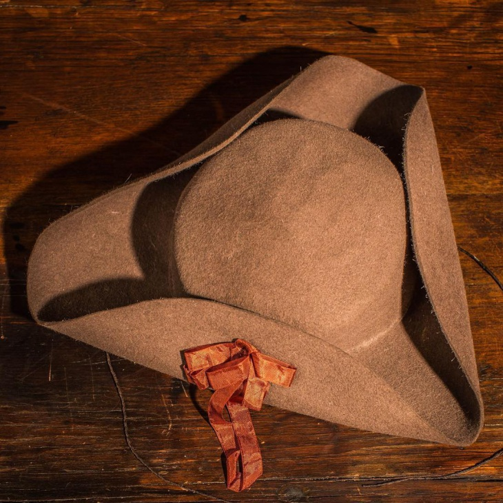 Cool Tricorn Hat Model