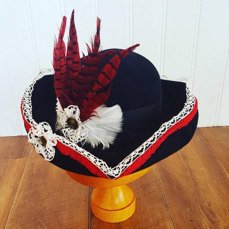 Handmade Tricorn Hat