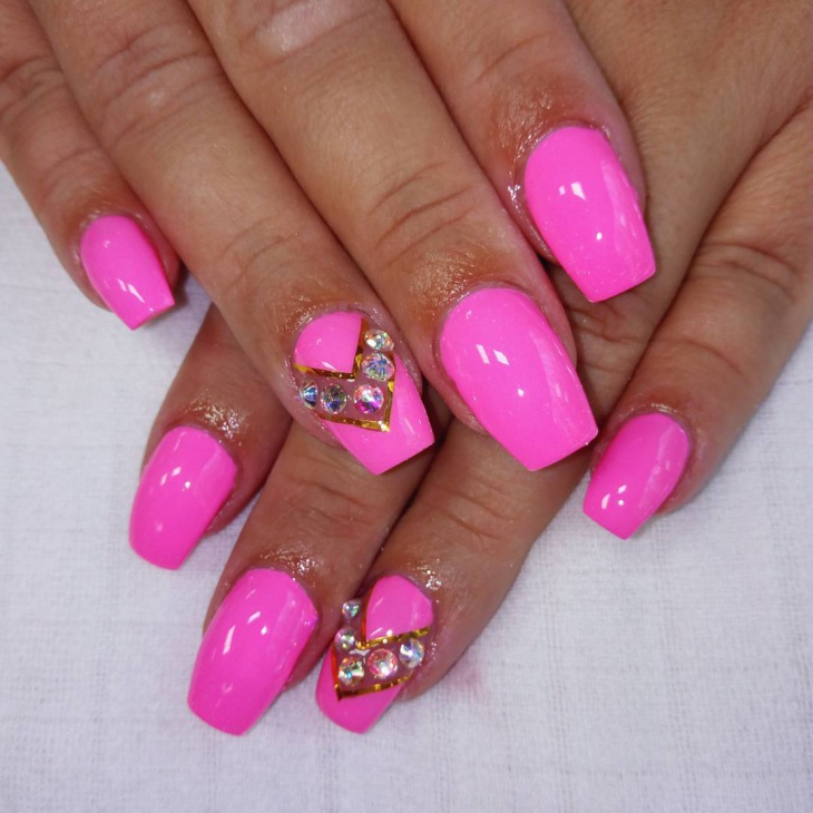 21+ Cute Pink Nail Art Designs, Ideas | Design Trends - Premium PSD ...