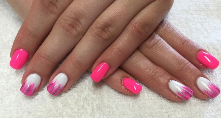 img. Nail design ... - 21+ Cute Pink Nail Art Designs, Ideas Design Trends - Premium PSD