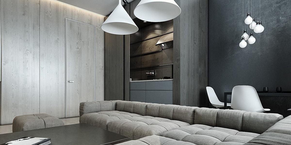 soft grey interiors