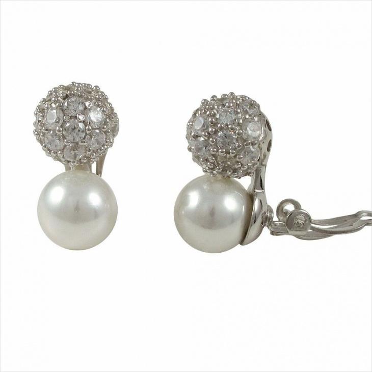 Ball Clip on Earrings Idea