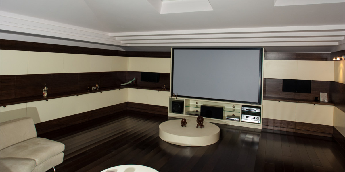 Hard Wood Home Theater