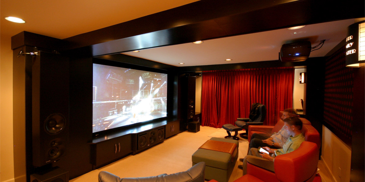 Light Brown Theme Home Theater
