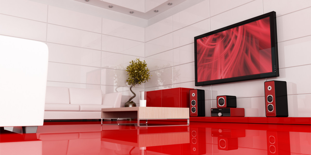 Colourful Themed Home Theater