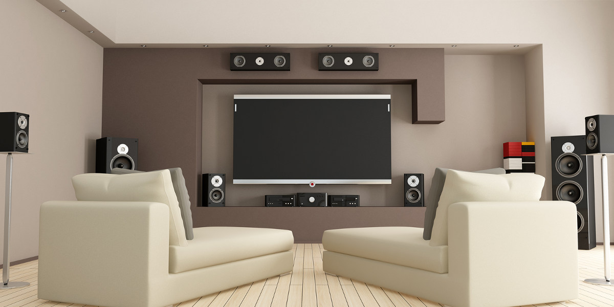 Classic Living Room Home Theater