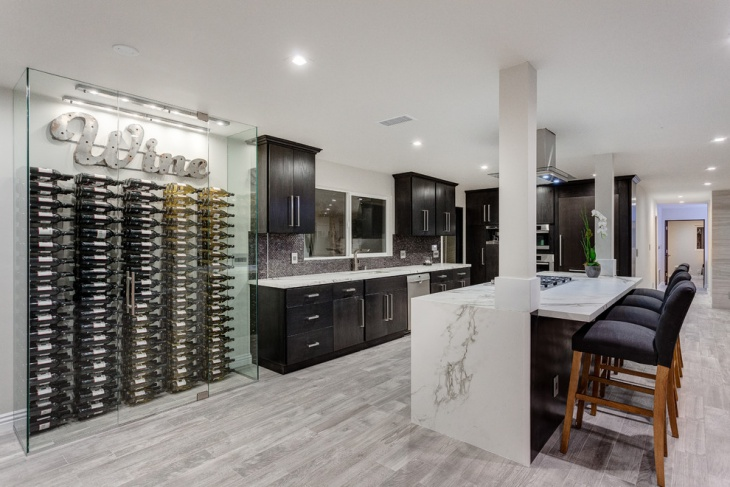 18 Basement Kitchen Designs Ideas Design Trends
