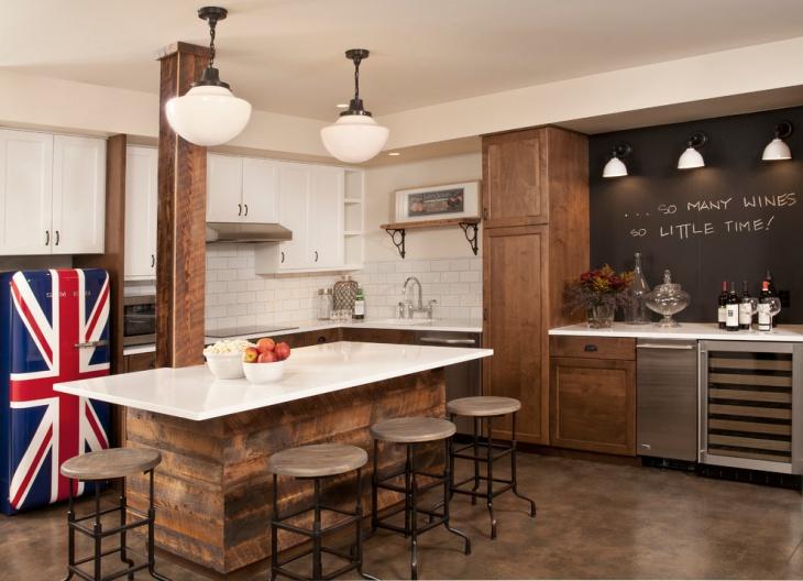 renovation of basement kitchen