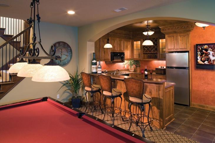 royal oak basement kitchen