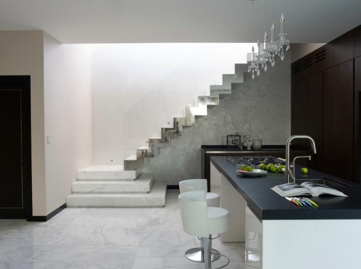 penthouse basement kitchen