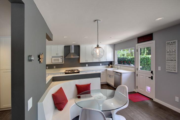 luxury basement kitchen idea
