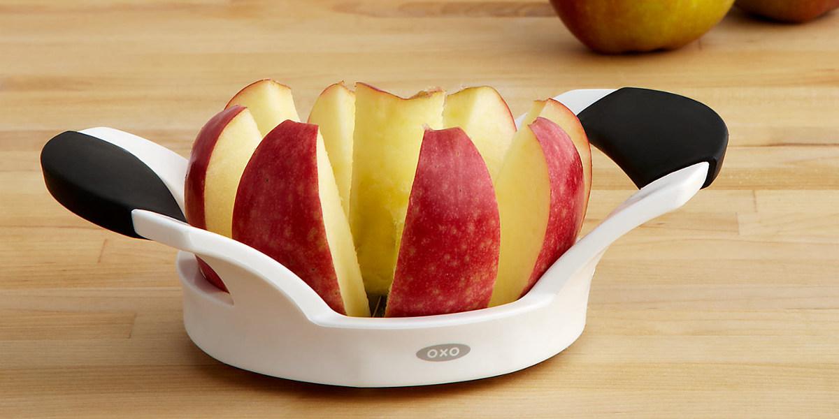 easy grip apple slicer