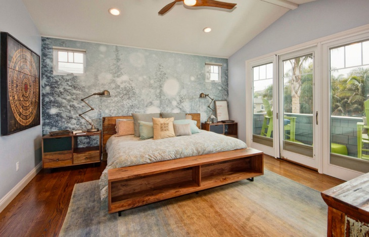 vintage home bedroom interior design