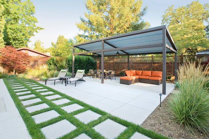 Backyard Covered Patio Design