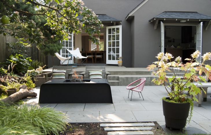 Backyard Concrete Patio Design