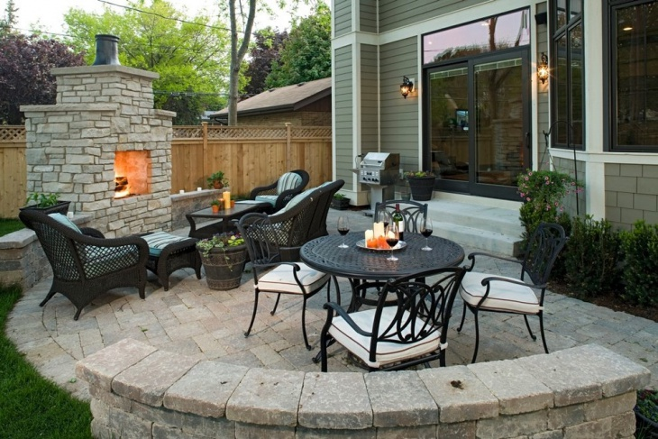 Traditional Backyard Patio Design