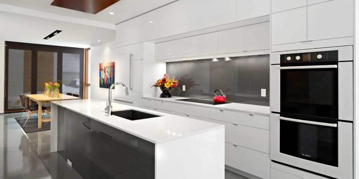 White Colored Kitchen