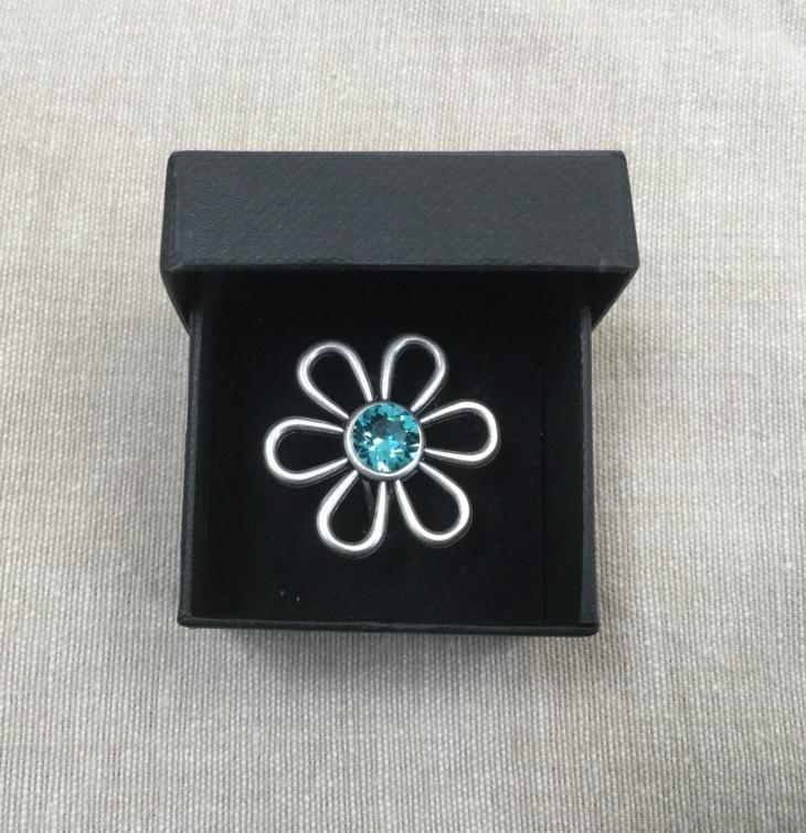Daisy Crystal Ring