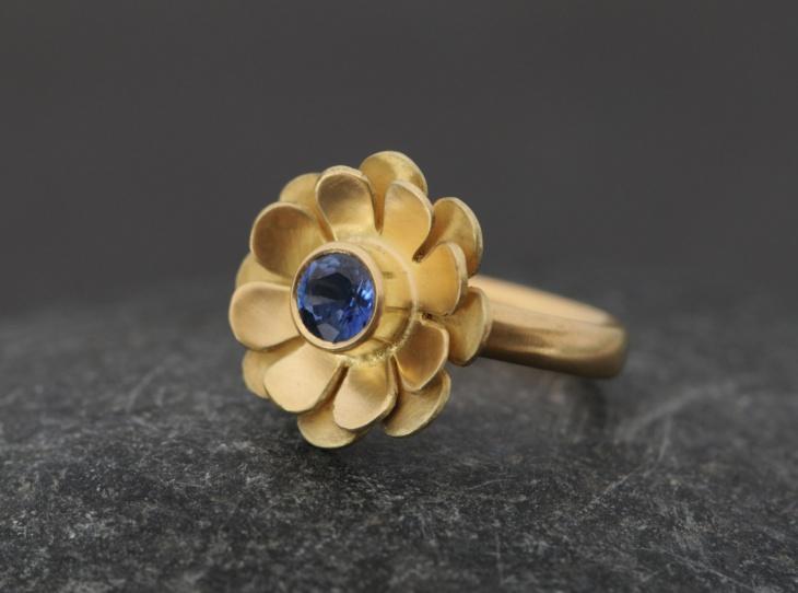 Daisy Engagement Ring