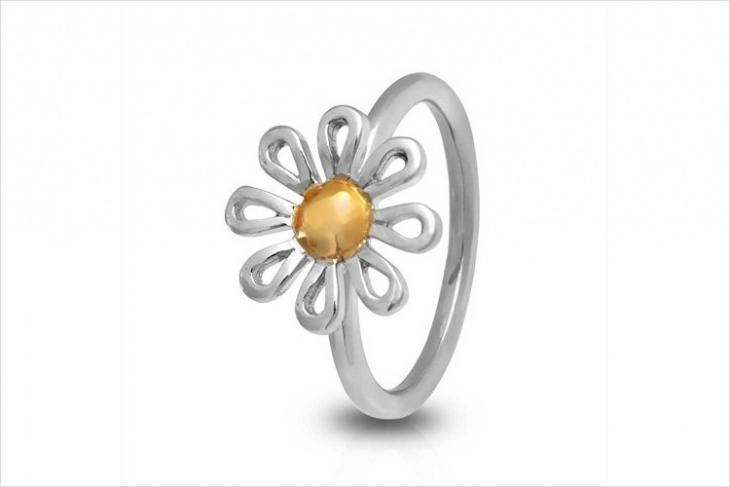 simple daisy ring design
