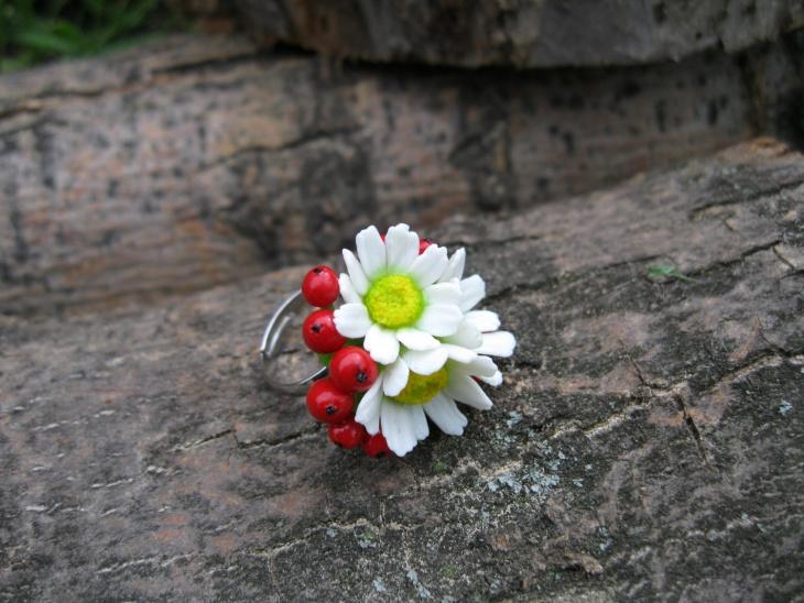 Beautiful Daisy Ring Design