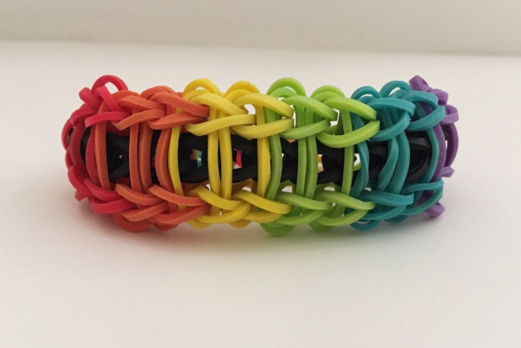 Rainbow Loom Braided Bracelet