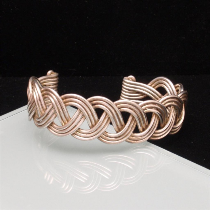 Metal Braided Bracelet
