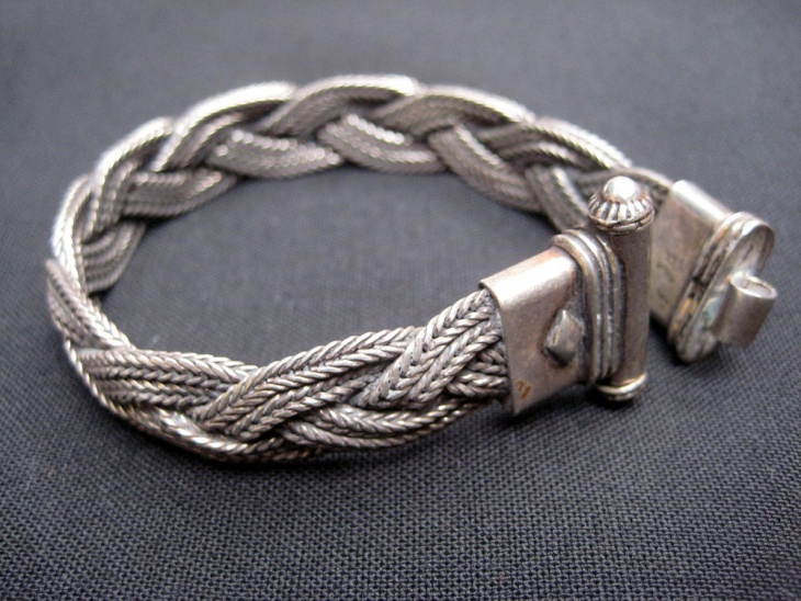 tribal braided bracelet
