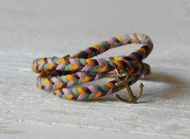 Wrap Braided Bracelet