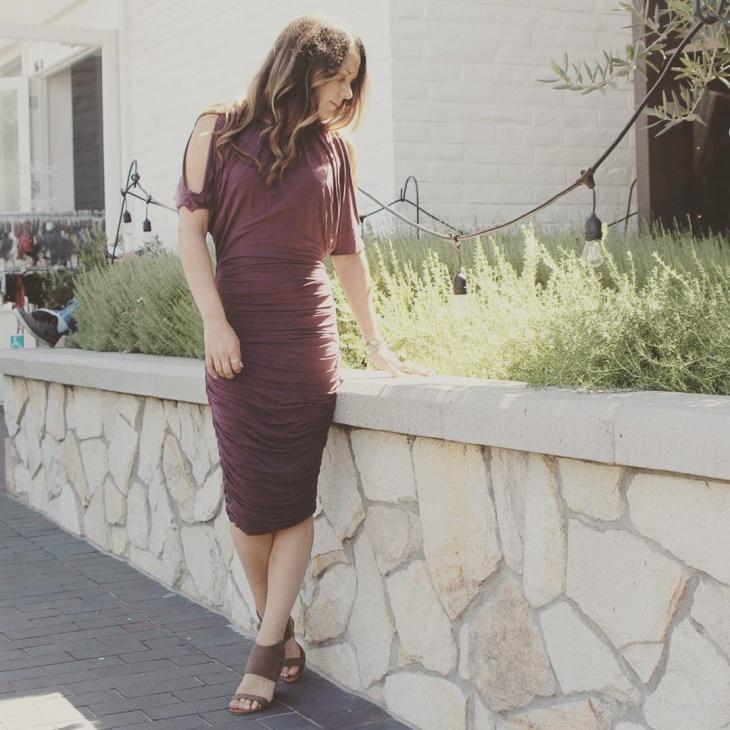 Stylish Ruched Dress