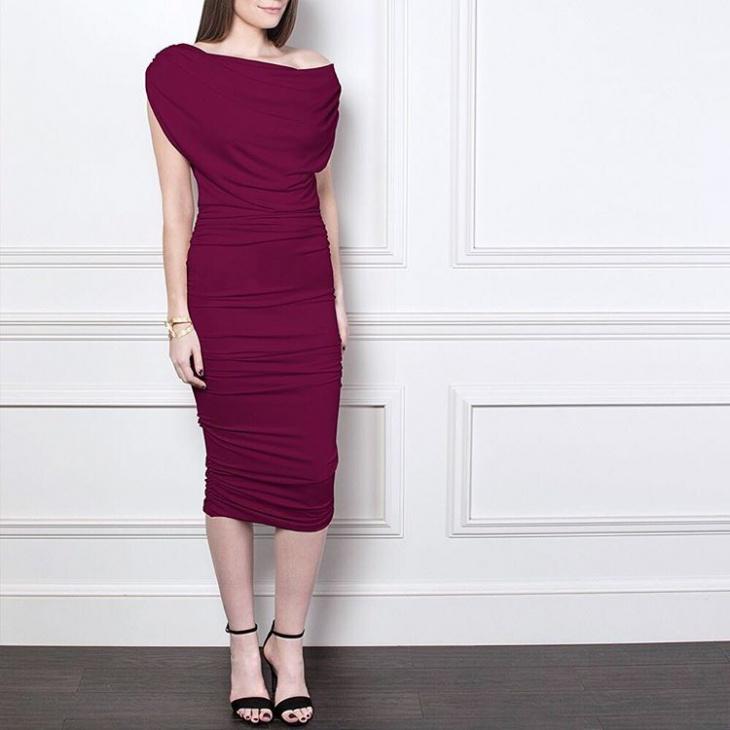 Trendy Ruched Dress Design