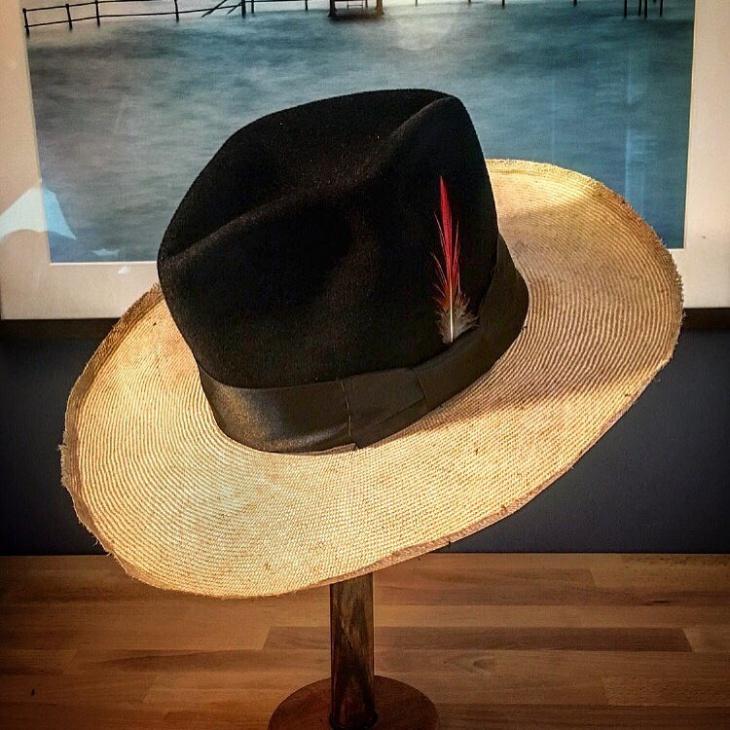 handmade spring hat idea