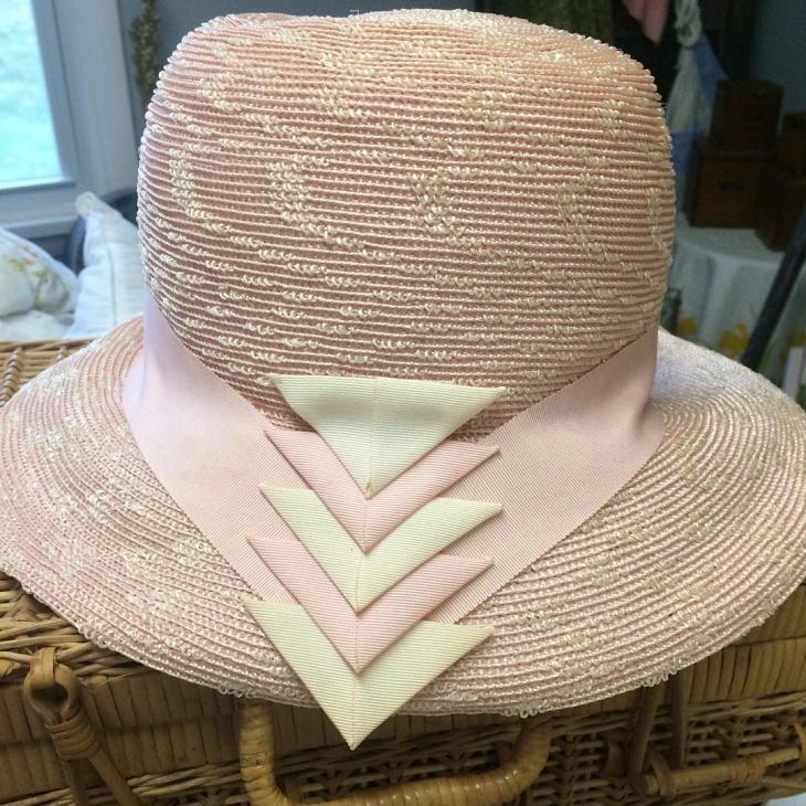 wedding spring hat design
