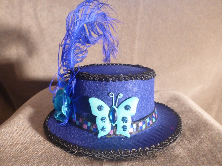 spring butterfly hat