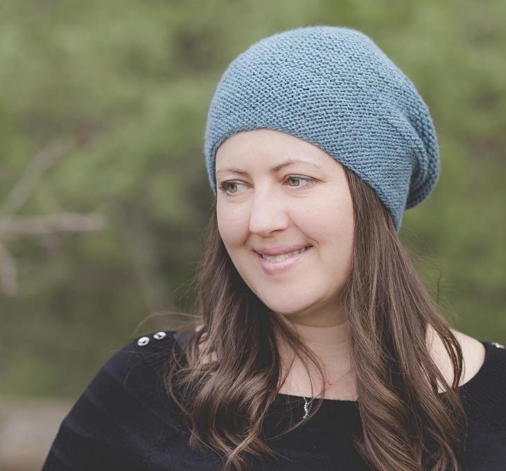knitted spring hatfor women
