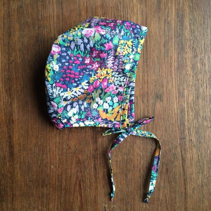 floral spring hat for kids
