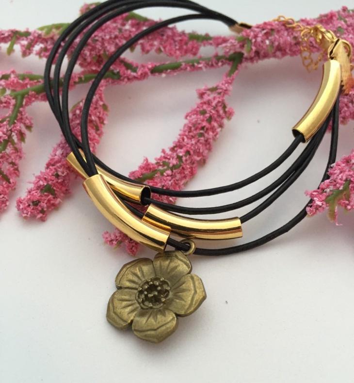 leather cord jewelry idea