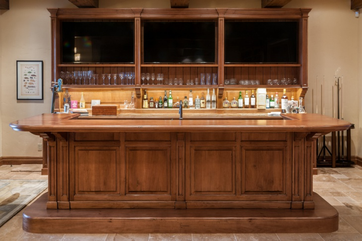 Rustic basement bar ideas inspiration decorating image mag - Unique home bars ...