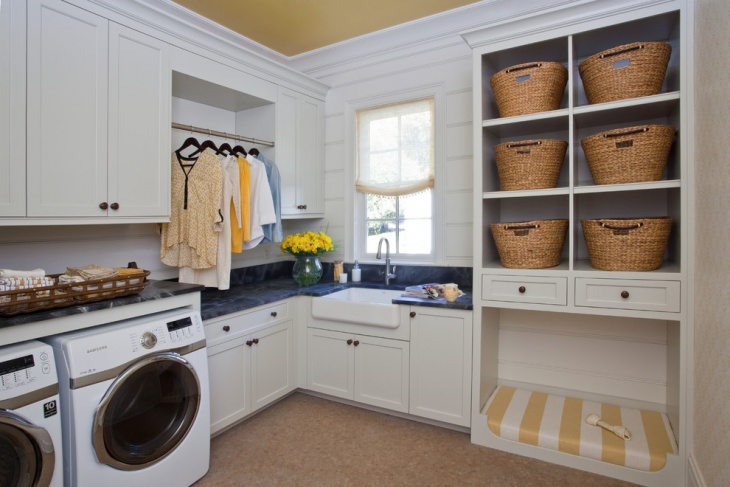 16 laundry room shelving designs ideas design trends - Laundry room wall ideas ...