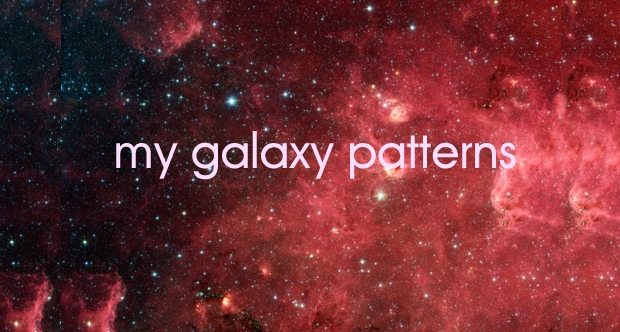 Free Galaxy Pattern Design