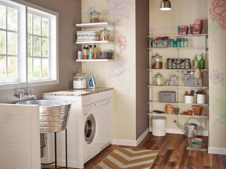 16 Laundry Room Shelving Designs Ideas Design Trends Premium Psd Vector Downloads