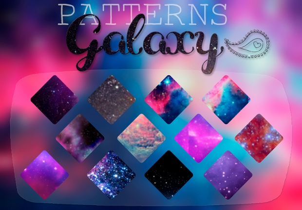 Galaxy Photoshop Pattern Design