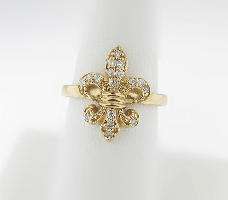 diamond anchor ring design