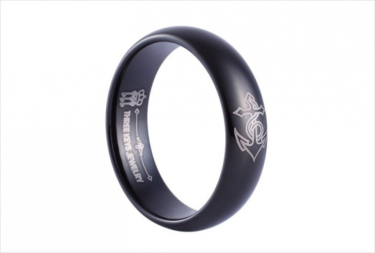 anchor band ring design