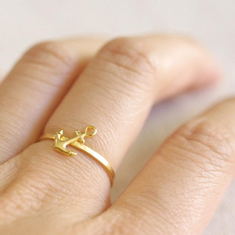 cute anchor ring idea